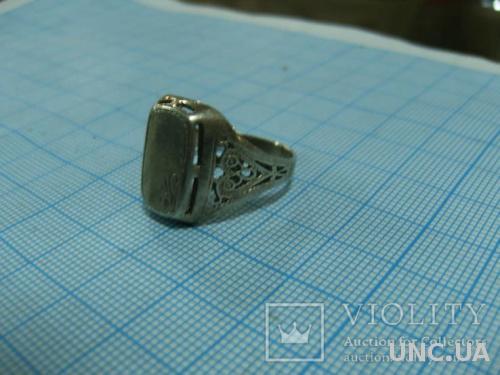 Печатка мужская серебряная