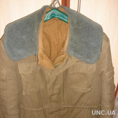 Продам куртку военную тёплую с подстежкой Афганка 44/4. СССР. Новая.