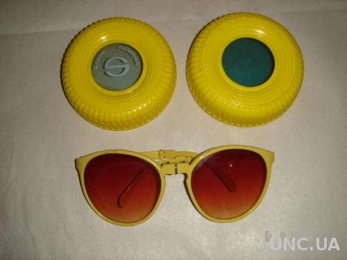 """Продам  складные очки """"Blue eyes"""" Solcom collection. 80-х годов. Оригинал. Новые."""