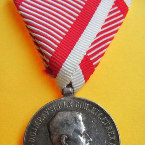 ЗА ХРАБРОСТЬ 2 КЛАССА ИМПЕРАТОРА КАРЛА 1917 ГОД