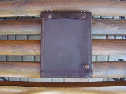 Кожанная папка-планшет работника ГАИ 50-60- х годов.