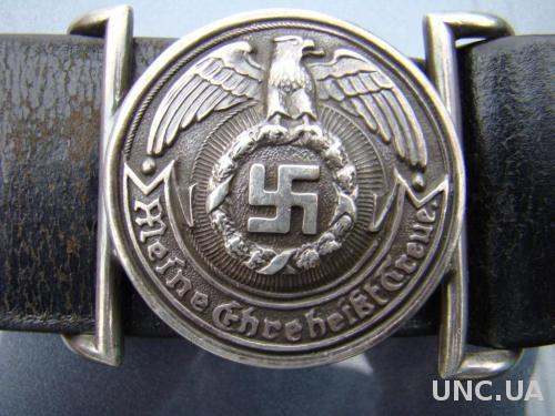 Офицерский ремень СС III Рейх.
