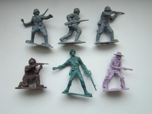Солдатики 6 шт.