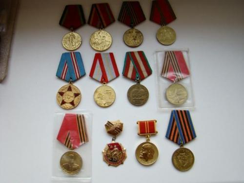 Юбилейные медали 16 шт. + 14 доков без повторов (см. описание).