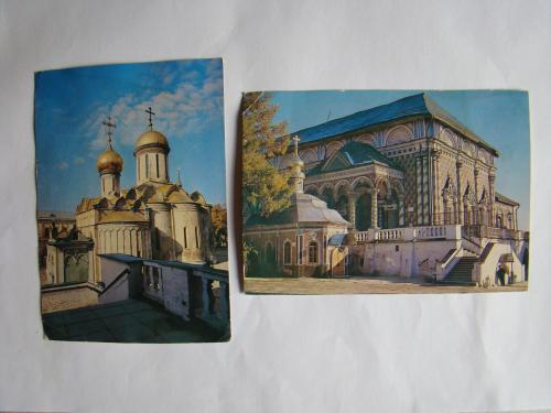 Загорск пямятники архитектуры 2 шт. 1980 г.в.