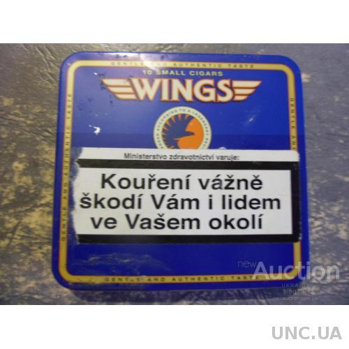 """Коробка от сигарет """"Летных"""""""
