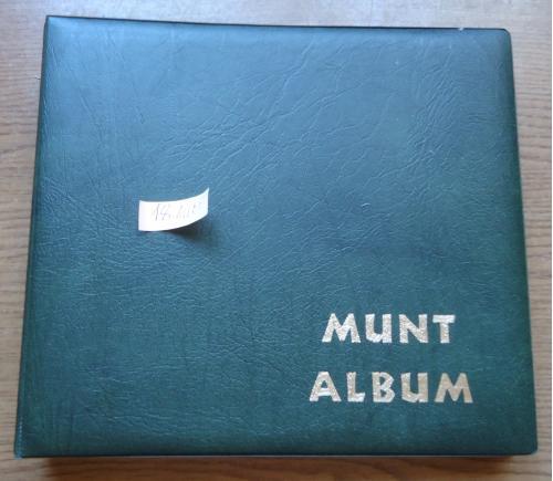 альбом для монет-супер=18 листов   б/у