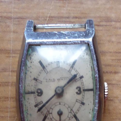 часы винтажные ручные швейцарские- ZAIS WATCH-нерабочие