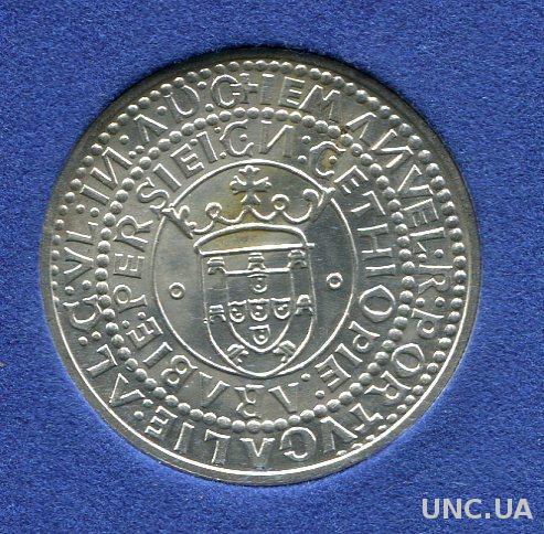 Португалия 1000 эскудо 1983 UNC серебро/835 ART
