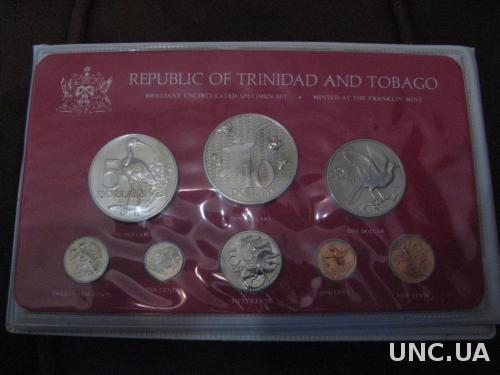 RAR! Тринидад и Тобаго 1977 Официальный набор В.UNC Буклет