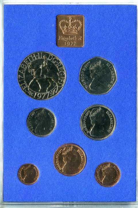 Великобритания  1977 Официальный набор ПРУФ пластик