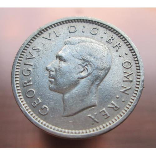 3 пенса 1940г. Серебро. Оригинал.