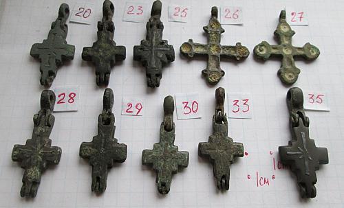 Крест Киевской Руси. Энколпион. Цена за 1 штуку.