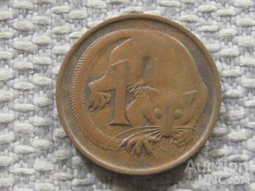 Австралия 1 цент 1980 года #3827