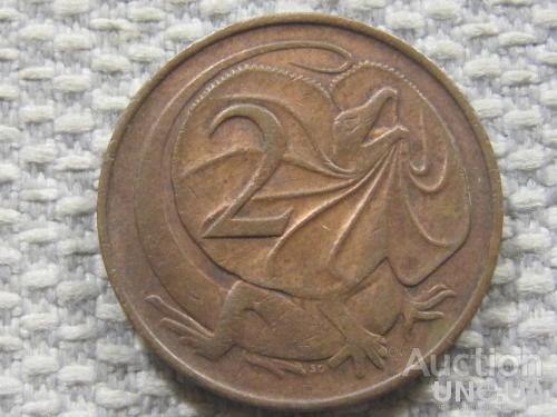 Австралия 2 цента 1966 года #3828