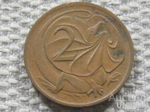 Австралия 2 цента 1976 года #3831