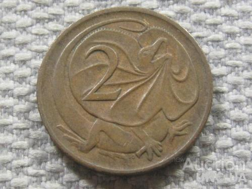 Австралия 2 цента 1980 года #3833