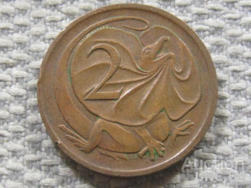 Австралия 2 цента 1981 года #3834