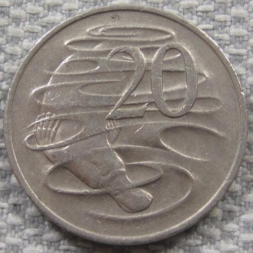 Австралия 20 центов 1976 года #13074