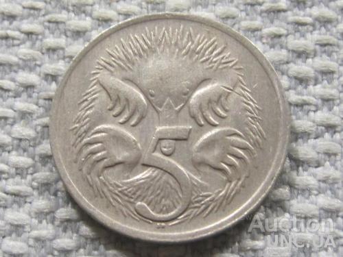 Австралия 5 центов 1969 года #3835