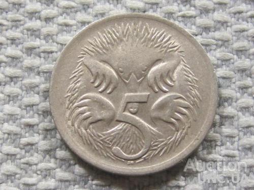 Австралия 5 центов 1969 года #3836