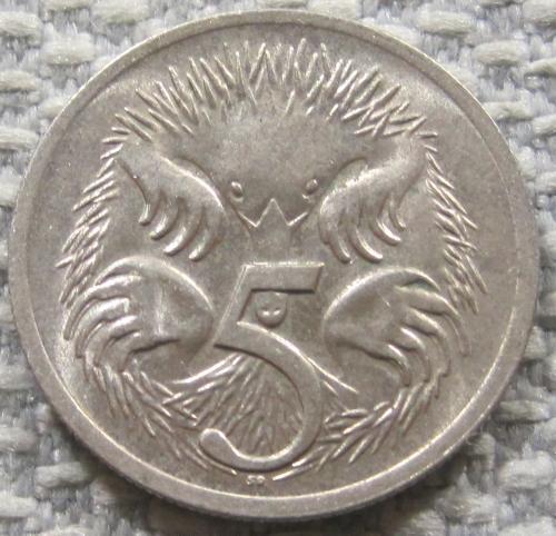 Австралия 5 центов 1970 года #12806