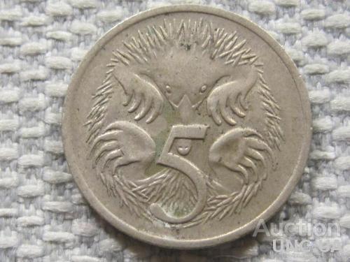 Австралия 5 центов 1973 года #3839
