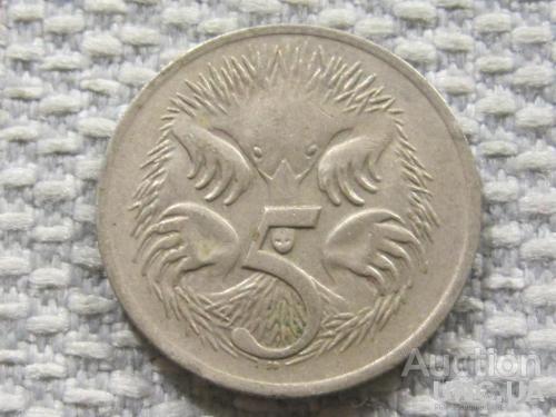 Австралия 5 центов 1977 года #3843
