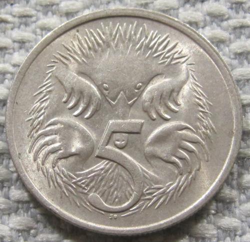 Австралия 5 центов 1979 года #12810