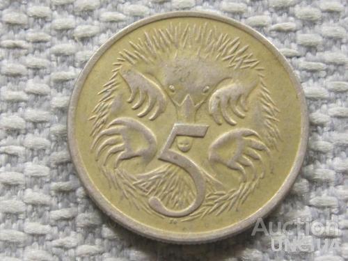 Австралия 5 центов 1980 года #3845
