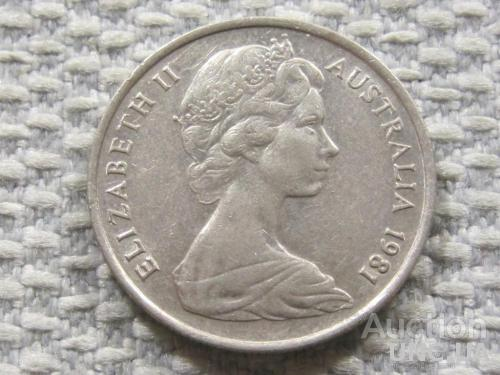 Австралия 5 центов 1981 года #3846