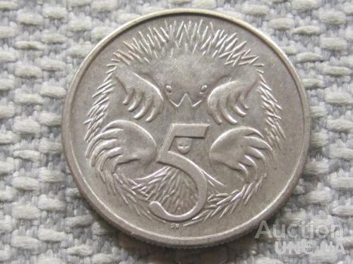 Австралия 5 центов 1981 года #3847