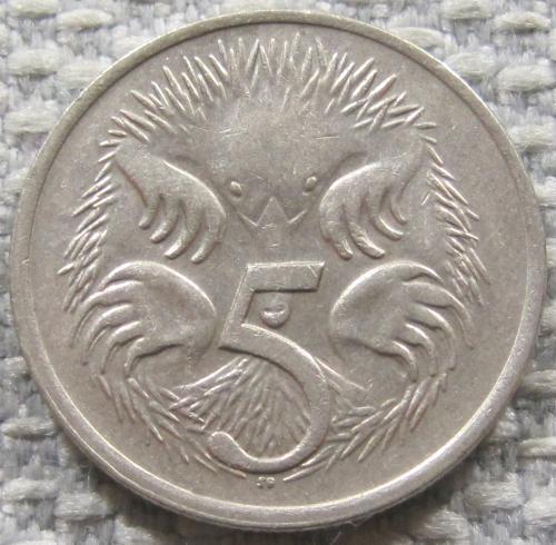 Австралия 5 центов 1982 года #12811
