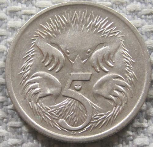 Австралия 5 центов 1989 года #12814