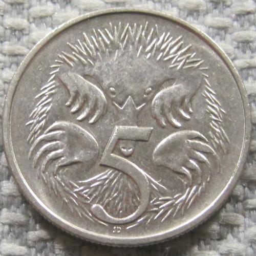 Австралия 5 центов 1992 года #12815