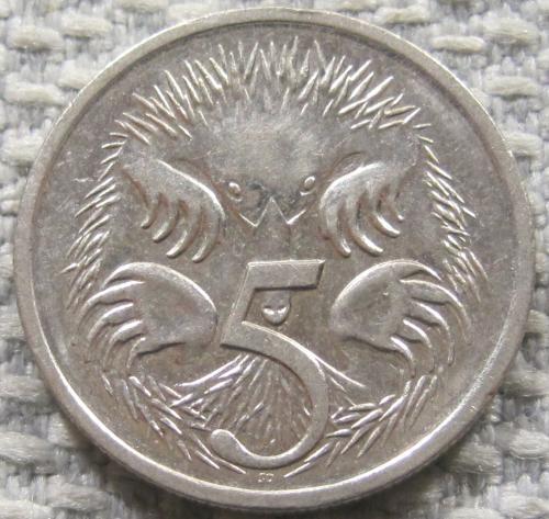Австралия 5 центов 1996 года #12819
