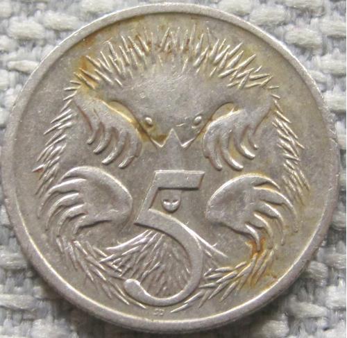 Австралия 5 центов 2006 года #12820