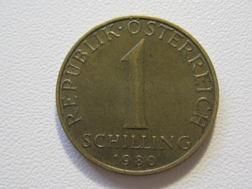 Австрия 1 шиллинг 1980 года #35397