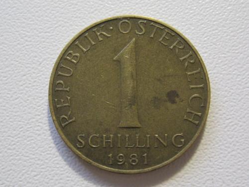 Австрия 1 шиллинг 1981 года #35398