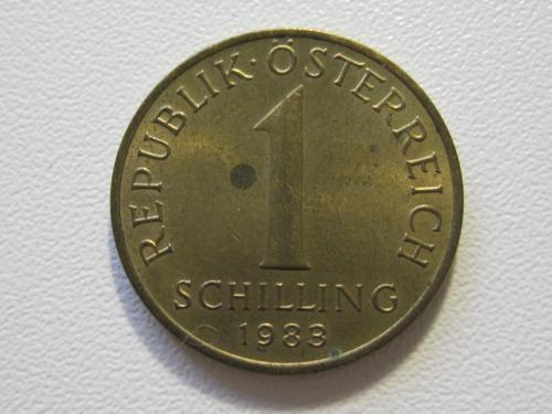 Австрия 1 шиллинг 1983 года #35399