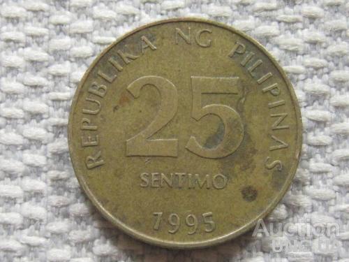 Филиппины 25 сентимо 1995 года #4159