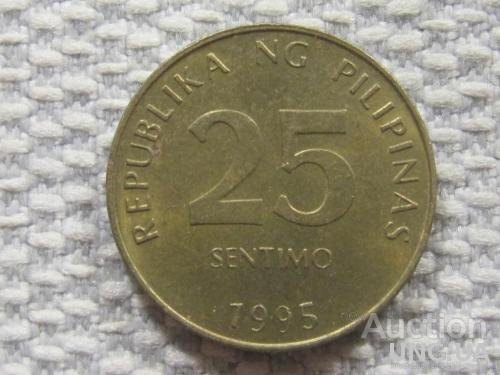 Филиппины 25 сентимо 1995 года #4161
