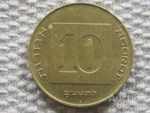 Израиль 10 агорот 2012 года #3064