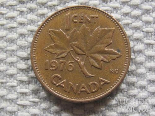 Канада 1 цент 1976 года #3138