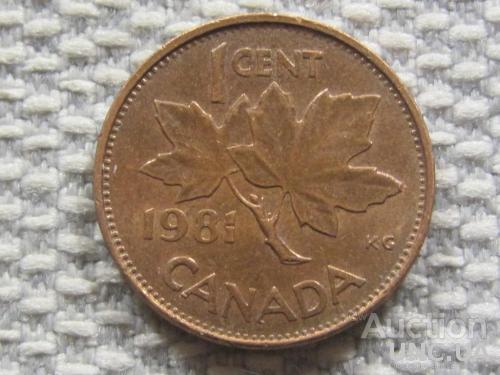 Канада 1 цент 1981 года #3143