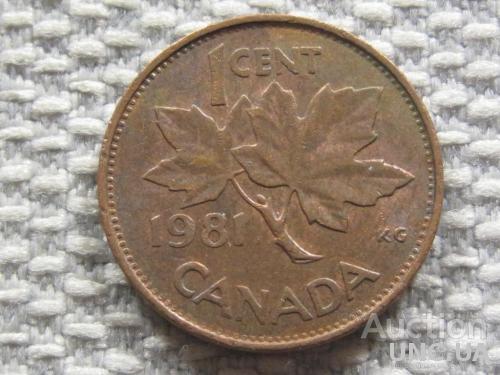 Канада 1 цент 1981 года #3144
