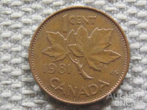 Канада 1 цент 1981 года #3145