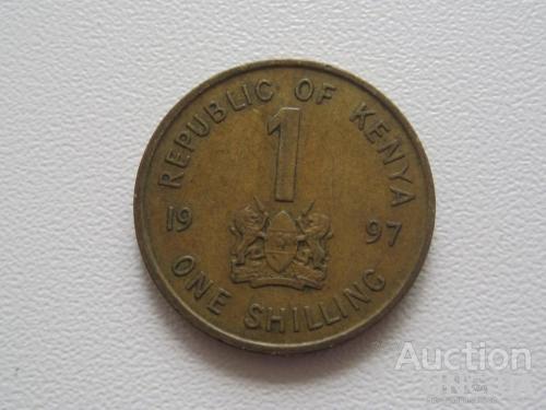 Кения 1 шиллинг 1997 года #7736