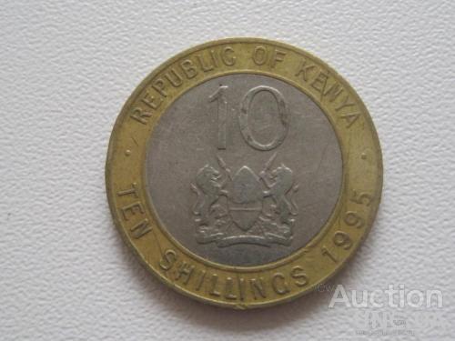 Кения 10 шиллингов 1995 года #7748