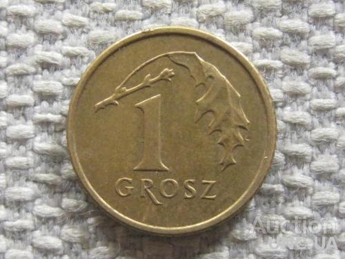 Польша 1 грош 2008 года #4513